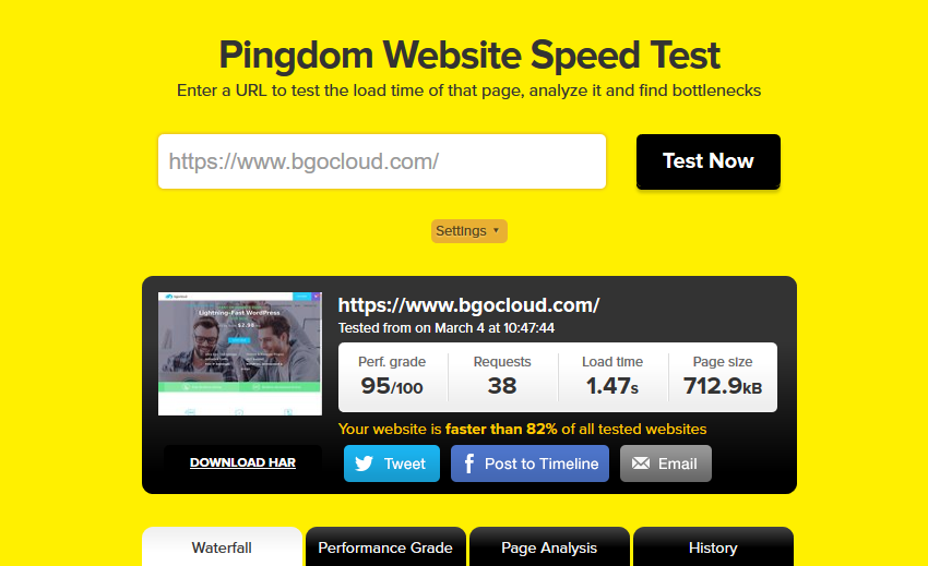 bgo cloud speed test