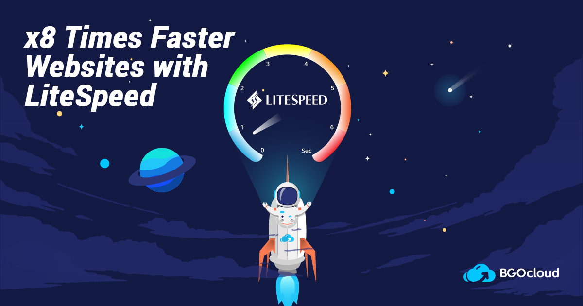 LiteSpeed Hosting - Now Available for all BGOcloud Customers