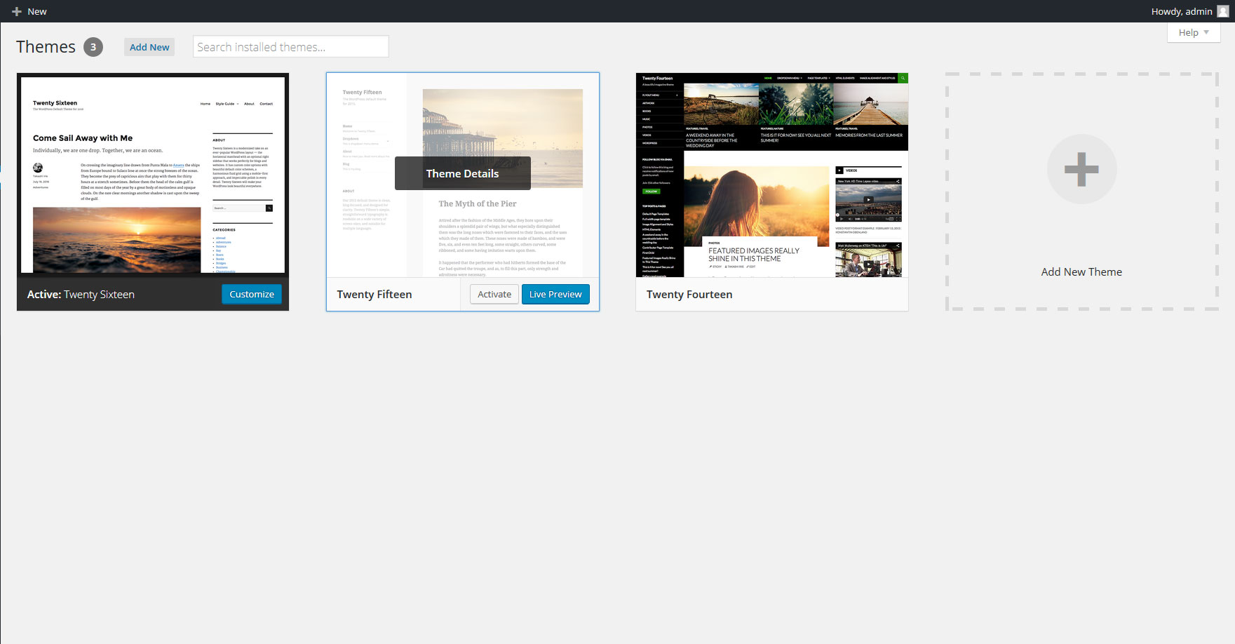 how to add html to wordpress theme