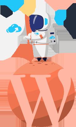 astronaut wordpress