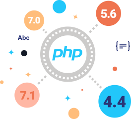 php versions image